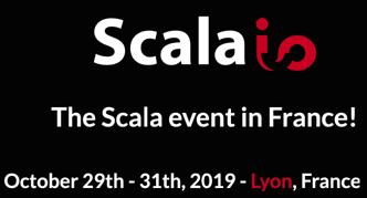 Meet us in : Scala.io